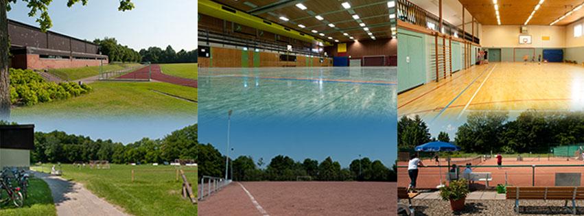 Die Sportstätten des TSV